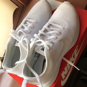 Nike Shoes - White Nike Dualtone Racer Sneaker